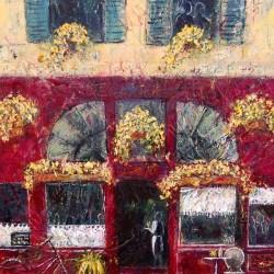 French café 2 Acrylic on canvas Size 30 x 23 each $ 180 each