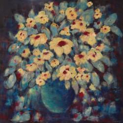 Jan Primmer - Blue Vase 90 X 90